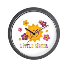 Sunny Little Sister Wall Clock