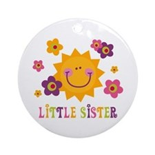 Sunny Little Sister Ornament (Round)