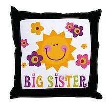 Sunny Big Sister Throw Pillow