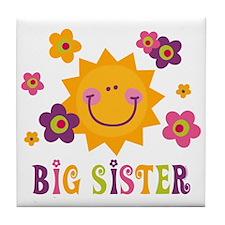 Sunny Big Sister Tile Coaster
