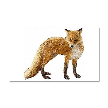 Fox Car Magnet 20 x 12