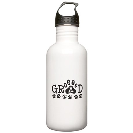 Grad 2012 Paws Stainless Water Bottle 1.0L