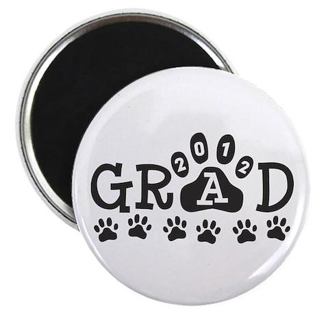 Grad 2012 Paws Magnet