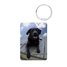 Cute Dog breeds Aluminum Photo Keychain
