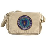 Massachusetts Masons Messenger Bag