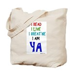 Young Adult Book Lovers Tote Bag