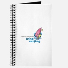 Never Too Young to Start Wind Surfing Journal
