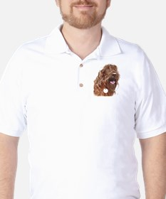 Chocolate Labradoodle3 T-Shirt
