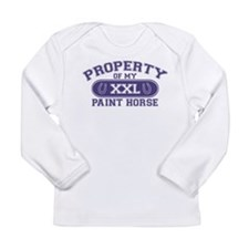 Paint Horse PROPERTY Long Sleeve Infant T-Shirt