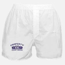 Paint Horse PROPERTY Boxer Shorts