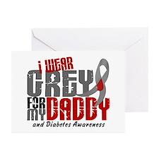 I Wear Grey 6 Diabetes Greeting Cards (Pk of 10)