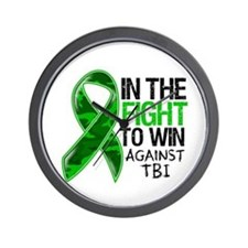 In The Fight TBI Wall Clock