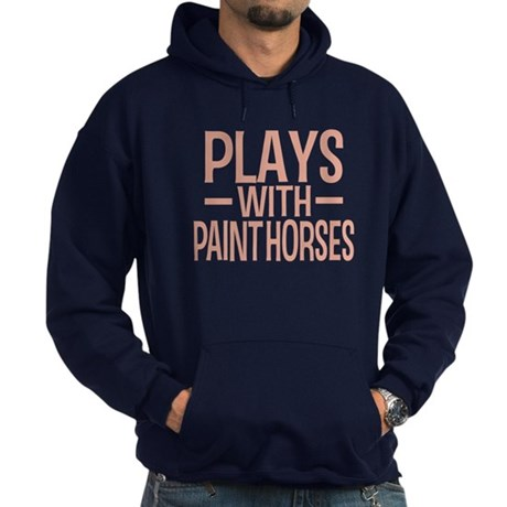 PLAYS Paint Horses Hoodie (dark)
