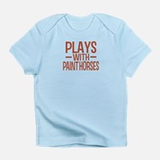 PLAYS Paint Horses Infant T-Shirt