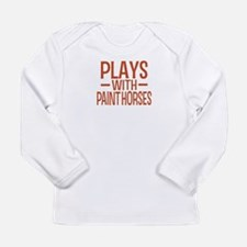 PLAYS Paint Horses Long Sleeve Infant T-Shirt