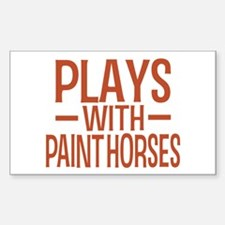 PLAYS Paint Horses Decal
