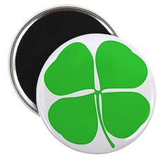 """Four Leaf Clover 2.25"""" Magnet (100 pack)"""