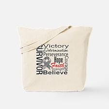 Brain Cancer Survivor Tote Bag