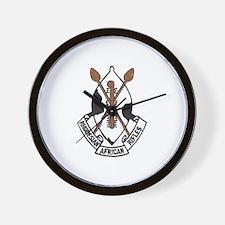 Rhodesian African Rifles Wall Clock