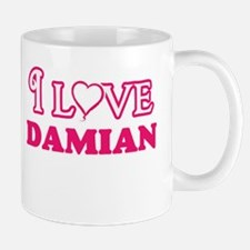 I Love Damian Mugs