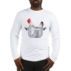 Chicken Pot Pi Long Sleeve T-Shirt