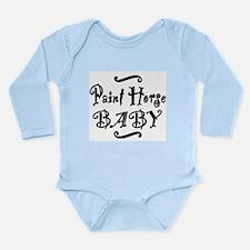 Paint Horse BABY Long Sleeve Infant Bodysuit