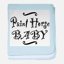 Paint Horse BABY baby blanket