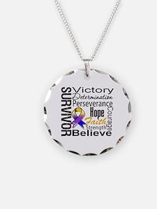 Bladder Cancer Survivor Necklace