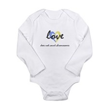 down syndrome love shirt a Body Suit