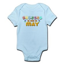Alisson is Due in May Infant Bodysuit