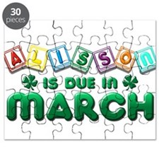 Alisson is Due in March Puzzle