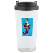 Geisha Doll Travel Mug