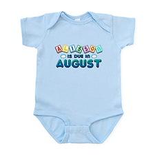 Alisson is Due in August Infant Bodysuit