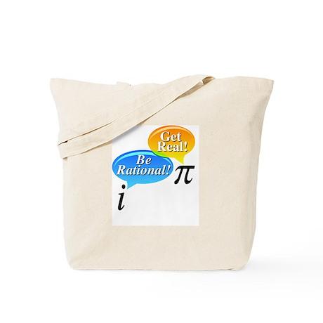 Math - Be Rational Get Real Tote Bag