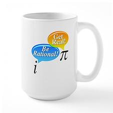 Math - Be Rational Get Real Mug