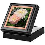 Mama's Two Beautiful Roses Keepsake Box