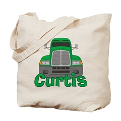 Trucker Curtis Tote Bag