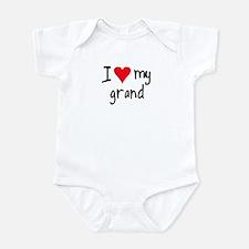 I LOVE MY Grand Infant Bodysuit