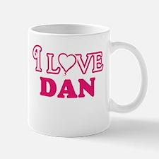 I Love Dan Mugs