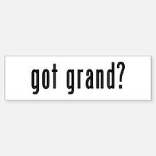 GOT GRAND Bumper Bumper Sticker