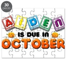 Aiden is Due in October Puzzle
