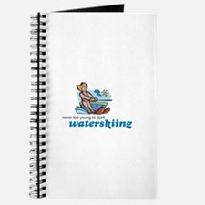 Never Too Young to Start Waterskiing Journal