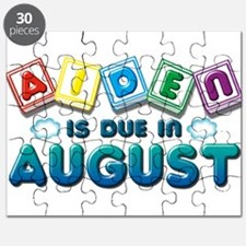 Aiden is Due in August Puzzle
