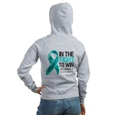 In The Fight Scleroderma Zip Hoodie