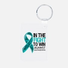 In The Fight Scleroderma Keychains