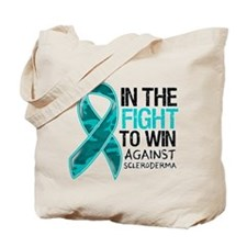 In The Fight Scleroderma Tote Bag