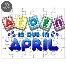 Aiden is Due in April Puzzle