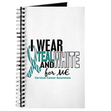 I Wear Teal White 10 Cervical Cancer Journal