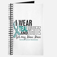I Wear Teal White 10 Cervical Cancer Journal
