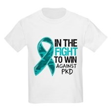 In The Fight PKD Awareness T-Shirt